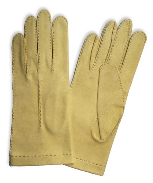f2a88464cd45d DL-50  Rękawiczki ze skóry irchowej ręcznie szyte z haftem